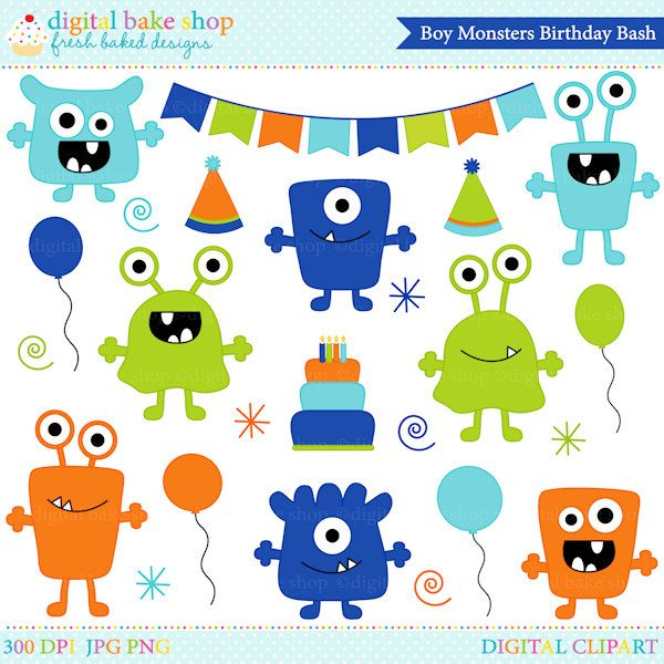 219 best Monster Mixed All images on Pinterest Monster party