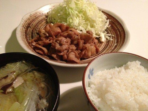 「男の料理レシピ」コーナー復活! 10分で簡単美味い!豚のしょうが焼き! | No Second Life
