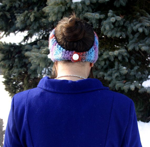 Measure as you go Earwarmer Headband by stickysugarstitches, $3.50