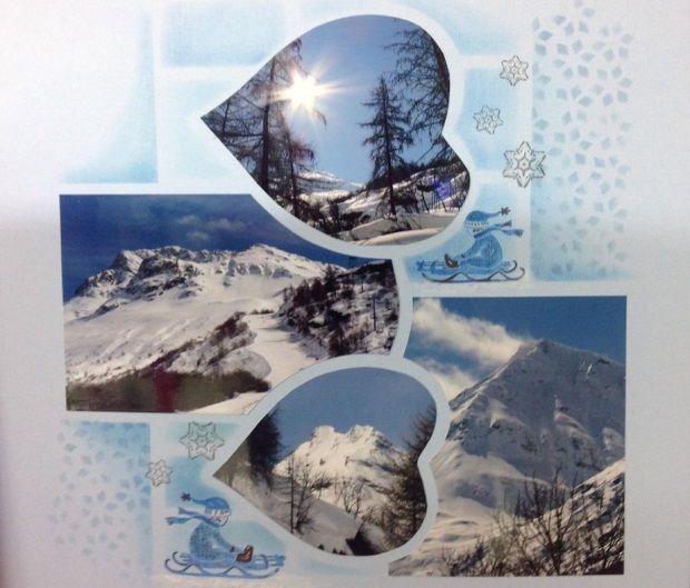 """Descente en luge du haut de la montagne sur les courbes de l'AZZA Studio """"Seychelles"""""""