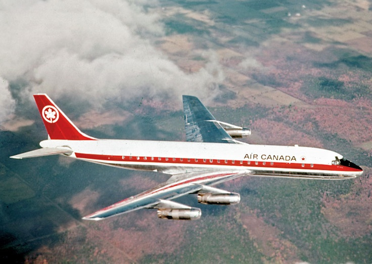 TCA breaks ground by using jet aircraft for non-military purposes. #aviation #AirCanada