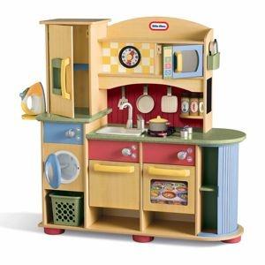 Little Tikes Kitchen Set Kids Wooden Kitchen Laundry Center