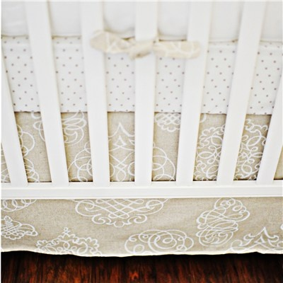 Layla Grayce Crib Bedding Pebble Moon: Arrival Cribs, Cribs Beds, Grayc Cribs