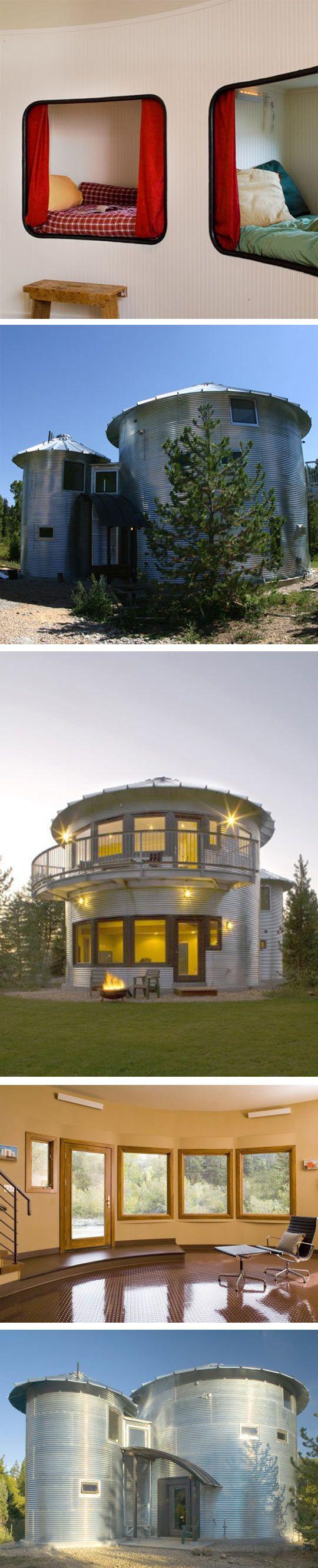 Grain Bin Home Best 20 Silo House Ideas On Pinterest Grain Silo Country Bar
