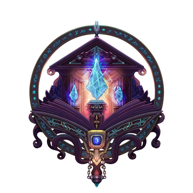 Mage icon concept art