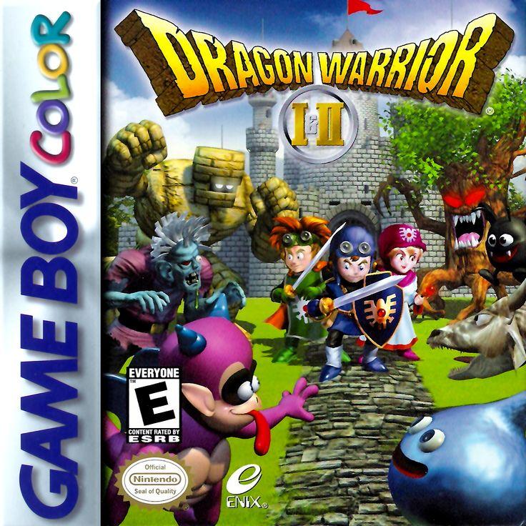 Dragon Warrior I & II Nintendo Game Boy Color