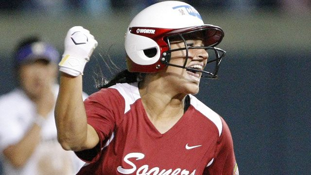 OU Softball: Chamberlain Sets HR Record In Win - News9.com - Oklahoma City, OK - News, Weather, Video and Sports |