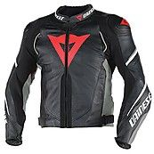 Giacca pelle Leather Jacket Super Speed D1 Nero-Antracite-Bianco Dainese  November Discount code 30% FB2015MT www.motorama.it