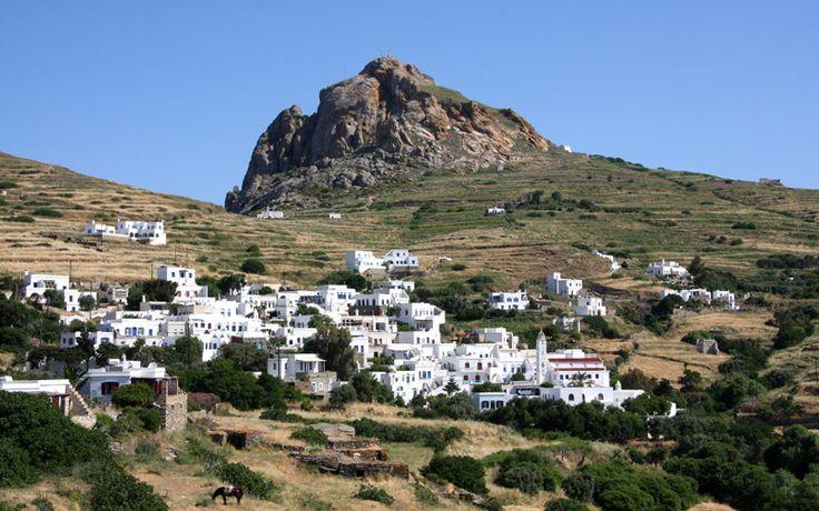 Visiting the Greek islands off season, Tinos island at the photo