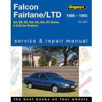 Ford Falcon 6Cylinder EA, EB & ED Workshop Repair Manual with MPN GAP04283