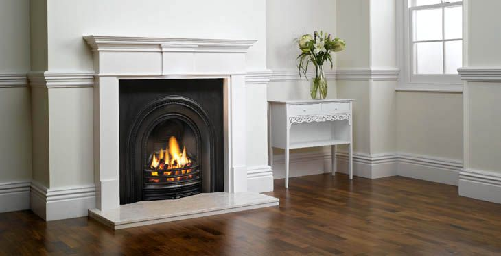 Gas Fireplace Inserts | ... Arched Insert | Stovax  Gazco, stoves, fires and fireplaces