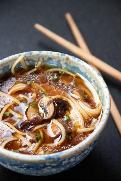 Pinterest cuisine : soupe japonaise