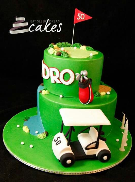 Cake Decorating Golf Figures : 109 best images about GOLF CAKES on Pinterest Golf ...