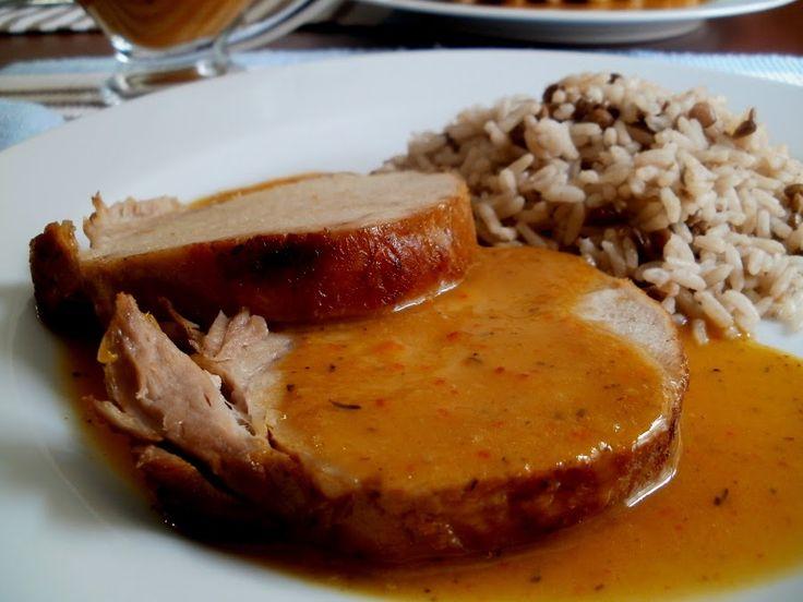 Lomo de cerdo a la naranja | Cocina