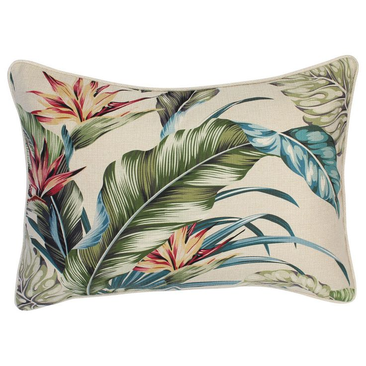 outdoor cushion paradise natural35cm x 50cmwith piping