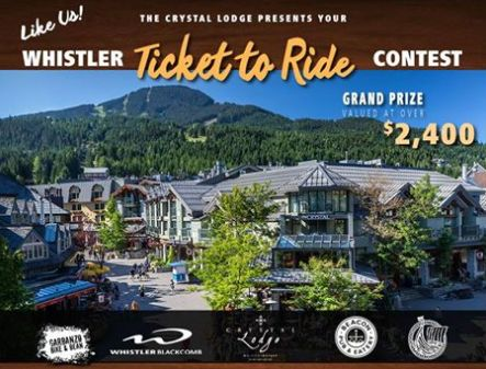Crystal Lodge - Win the Ultimate Whistler Spring Getaway - http://sweepstakesden.com/crystal-lodge-win-the-ultimate-whistler-spring-getaway/