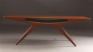Lauritz.com - Moderna bord och stolar - Johannes Andersen. Sofabord, teak - DK, Aalborg, Nibevej