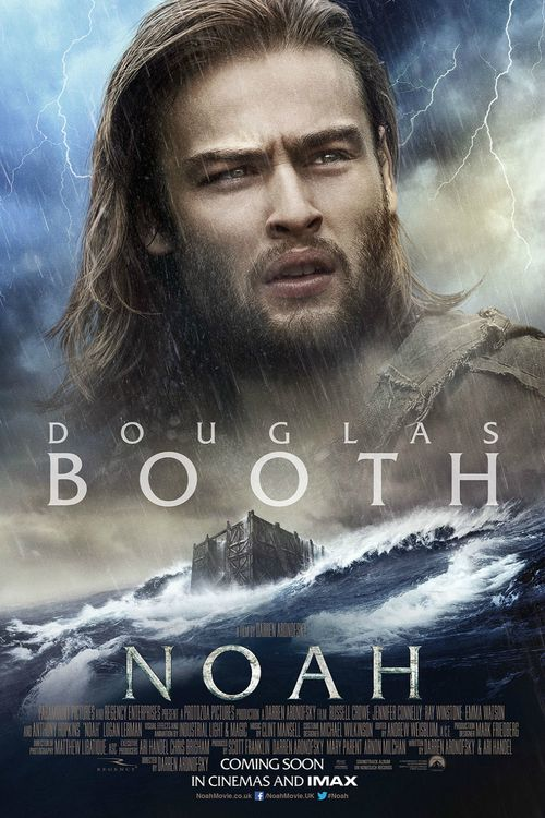 Douglas Booth in Noah - movie poster