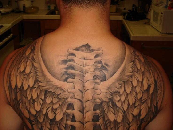 nice Tattoo Trends - Angel Wing Tattoos for Men - Ideas and Inspiration for Guys