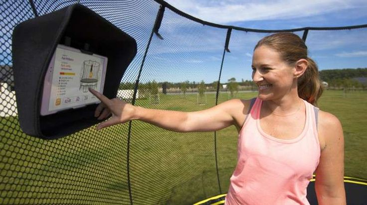 Springfree Trampolines Bring Smart Exercise to Your Backyard #trampoline #fitness #tgoma