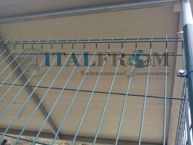BOX RECINTO MODULARE PER CANI IN FERRO ZINCATO PLASTIFICATO VERDE-CON TETTO IN LAMIERA - mt 2x1x2 h