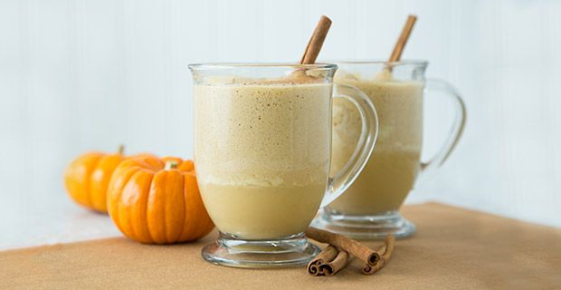 This hot drink is delicious by itself but can also be added to coffee or hot chocolate for a burst of fall flavor.