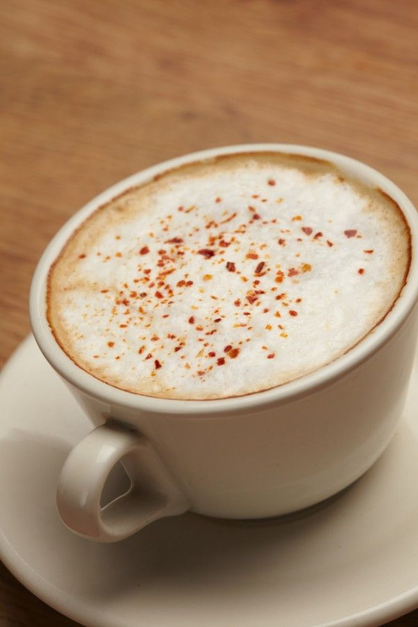 Our Skinny Pumpkin Spiced Latte is such a yummy way to start the day. #pumpkinspicedlatte