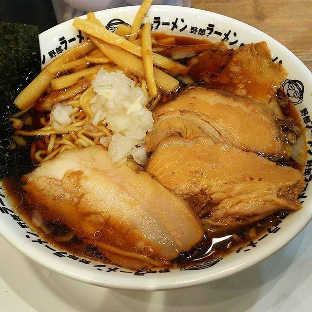 野郎ラーメン 竹岡式肉醤油そば 900円 #竹岡ラーメン #醤油そば#ramen #肉