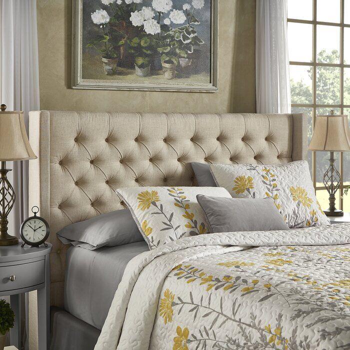 Neher Upholstered Standard Bed & Reviews Joss & Main in