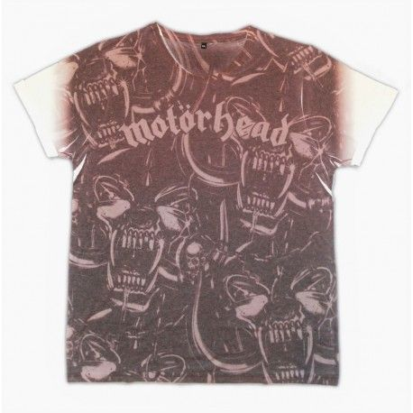 Tricou Allover Motorhead: War Pig Repeat