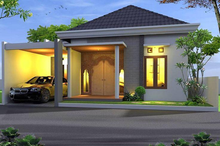 Desain Rumah Minimalis Terbaru 1 Lantai Tampak Depan