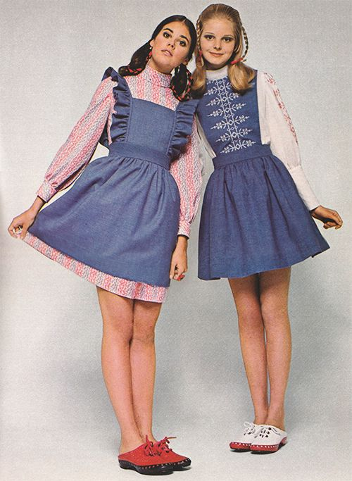 April 1969. 'The Dress-In. Love its pre-paired partners.'