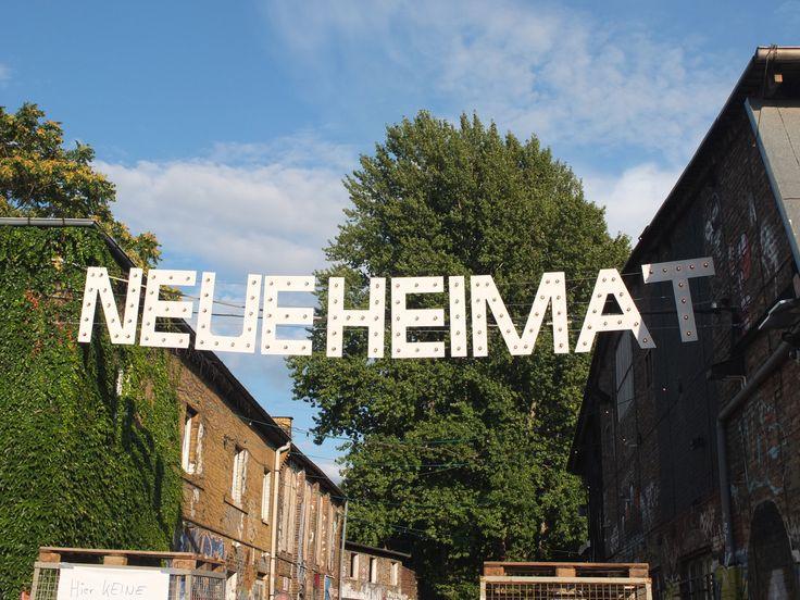 Neue Heimat is a new village market to enjoy food and music on sundays, in Friedrichshain, Berlin