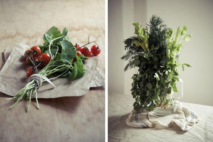 Edible Bouquet: A Photo Essay by Kim Lightbody.