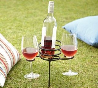 ++  Picnic Beverage Stake - eclectic - outdoor products - by Pottery Barn  ++