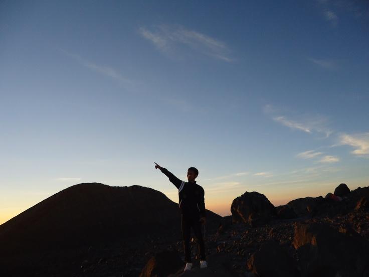 #sunrise at #merapi