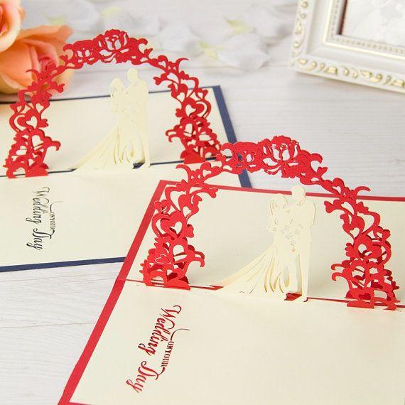 Jour 3D Pop Up cartes de voeux anniversaire bébé anniversaire Pâques Halloween de fête des mères fête des pères nouvelle Thanksgiving Valentine de mariage de mariage
