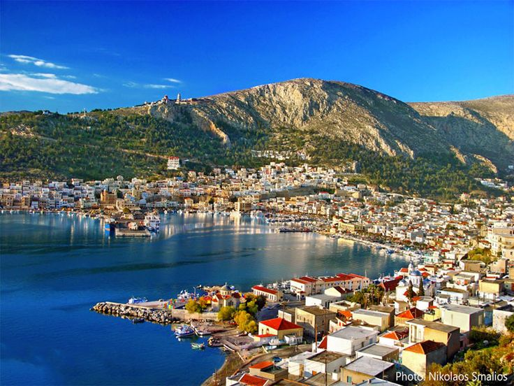 Pothia Village, Kalymnos #mysteriousgreece
