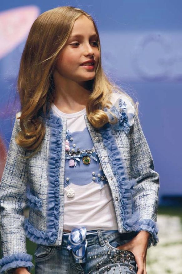 Chanel channeling at Miss Grant summer 2011 girlswear with ruffle decoration