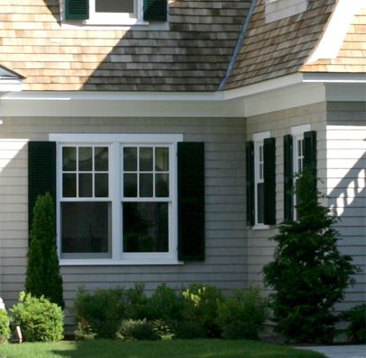 Maibec shingles in seacoast exterior home ideas - Exterior paint that lasts forever ...