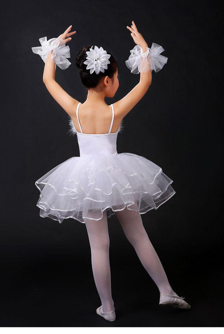 Blanc Cygne Lac Classique Professionnel Ballet Tutu vêtements Filles Costume De Danse Performance Ballet Robe pour Enfants dans ballet de Nouveauté et une utilisation particulière sur AliExpress.com | Alibaba Group