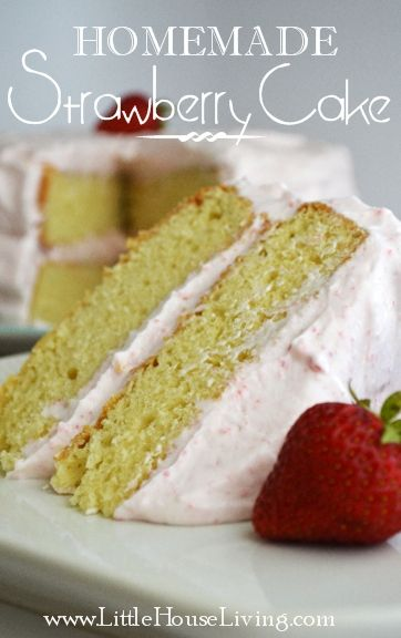 This is the perfect dessert recipe for summer! Based off a recipe from 1887 and topped with a light creamy frosting. SO good!