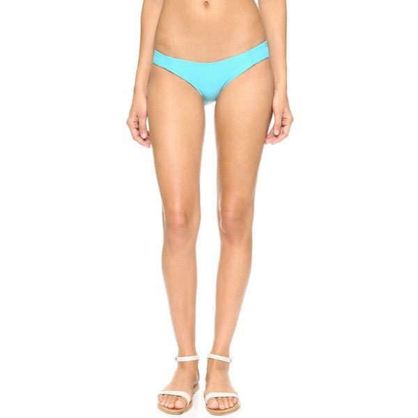 Tori Praver Swimwear Daisy Bikini Bottoms ($25) ❤ liked on Polyvore featuring swimwear, bikinis, bikini bottoms, bottom bikini, tori praver swimwear, daisy bikinis, daisy swimwear and swim bikini bottoms