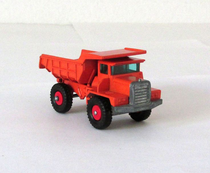 Vintage Lesney Matchbox #28 Mack Dump Truck Regular Wheels XLNT 1968 #MatchboxLesney #Mack