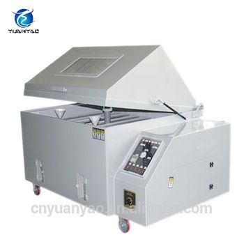 Salt spray test cabinet is a standardized test method used to check corrosion resistance of coated samples. Since coatings can provide a high corrosion resistance through the intended life of the part in use. #saltspraytestcabinet #saltspraytestcabinetmanufacturer #saltspraytestcabinetprice #saltspraycabinet