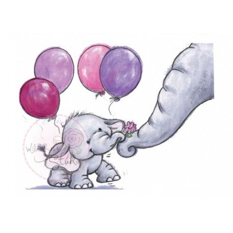 Best 25 f te anniversaire images on pinterest birthdays feta and die cutting - Dessin elephant ...