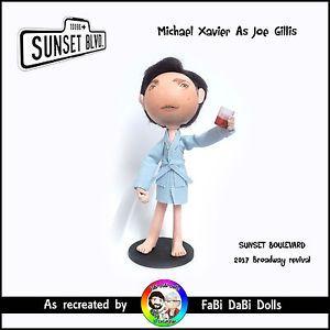 michael xavier joe gillis - glenn close sunset boulevard peg doll by fabi dabi dolls available now on ebay