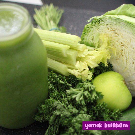 kolay pratik sağlıklı yeşil smoothie içecek tarifi yapılışı nasıl yapılır, farklı değişik sağlıklı içecek smoothie tarifleri, kış sebzeleri meyveleri ile smoothie