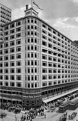 The Department Store Museum: Carson Pirie Scott & Co. - (1904) 1 South State Street, Chicago, Illinois