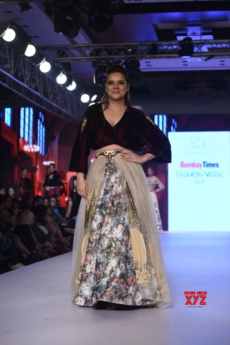 "Mumbai: ""Bombay Times Fashion Week"" 2017 Udita Goswami - Social News XYZ"